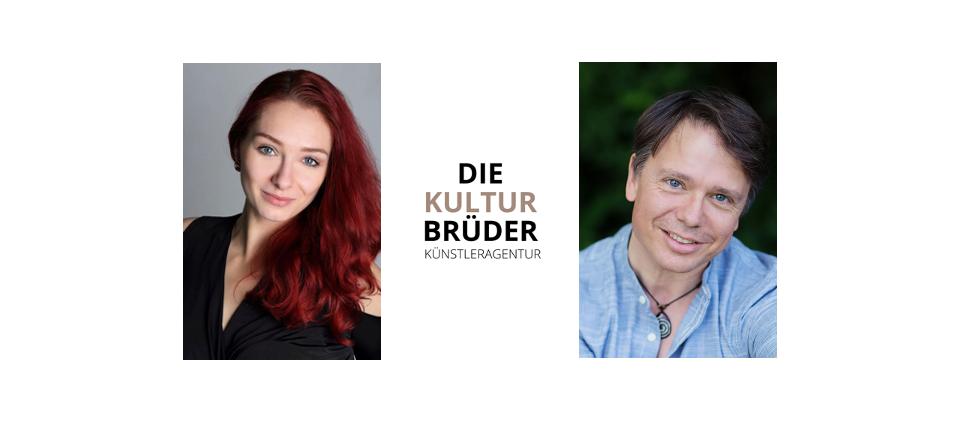 die Kulturbrüder - Barbara Castka und Martin Pasching - Credits: Helmuth Rafetseder und Conny Wenk