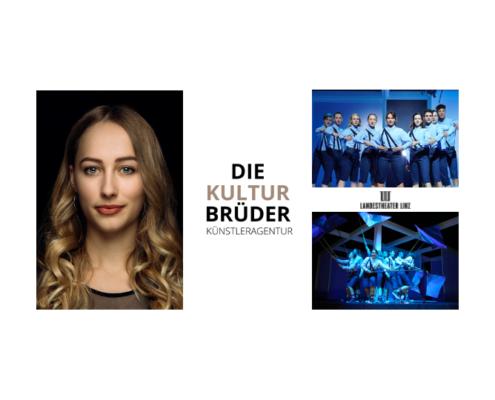 die Kulturbrüder - Kathrin Schreier - The Wave - Landestheater Linz - Credits: Jan Frankl und Reinhard Winkler